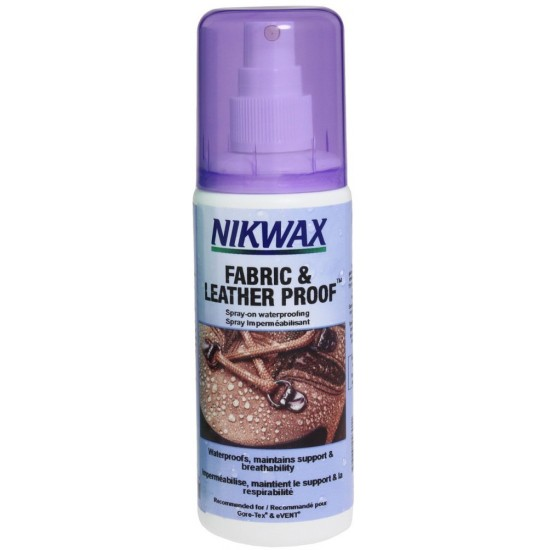 Импрегнатор за обувки спрей NIKWAX Fabric & Leather Proof 125ml 3560