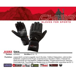 Ръкавици CHIBA Core Plus black