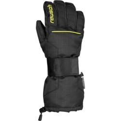Ръкавици REUSCH Baseplate black yellow