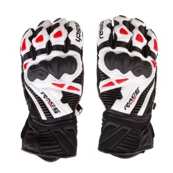 Ръкавици Reusch Race Tec II GS  black white 100154