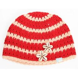 Дамска шапка плетена O'NEILL 516 red