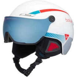 Каска с визьор BOLLE B-Yond Visor 31652 - white red blue