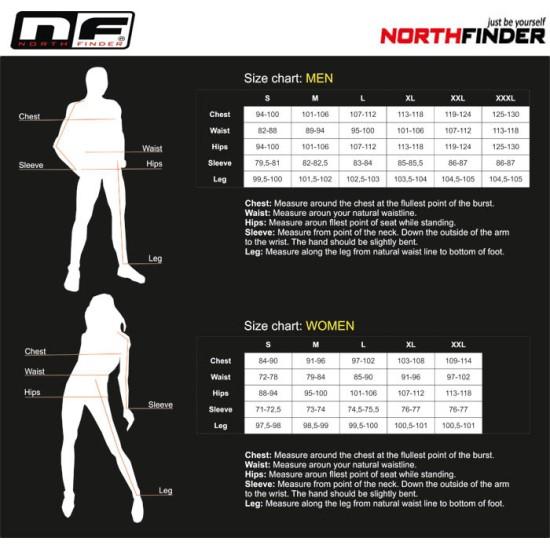Водоустойчиво яке NORTHFINDER Northcover green
