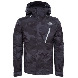 Мъжко яке THE NORTH FACE Descendit - black camouflage
