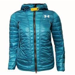 Дамско пухено яке UNDER ARMOUR Performance turquoise