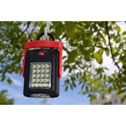 Мултифункционално къмпинг осветление 20LED - red
