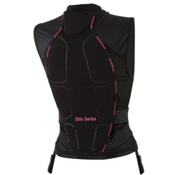Протектор за гръб дамски ICETOOLS S-Lite Lady 667015 black pink