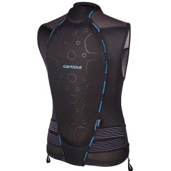 Протектор за гръб мъжки ICETOOLS S-Lite Men black blue 667030