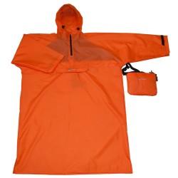 Дъждобран с ръкави ТАШЕВ Traveller orange