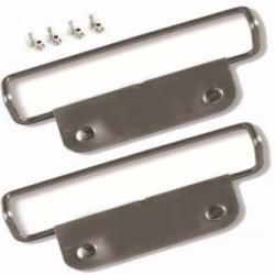 Скоби за ски колани с пластина и нитове POMOCA Top Fix 105x17мм