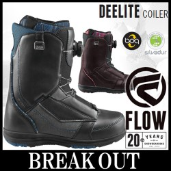 Дамски сноуборд обувки FLOW DeeLite BOA bordo