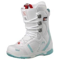 Дамски сноуборд обувки HEAD Jade white