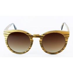 Слънчеви очила с дървена рамка 7th Sense Mona Brown Polarized