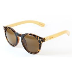 Слънчеви очила с дървена рамка 7th Sense Savanna Brown Polarized