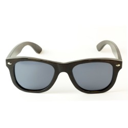 Слънчеви очила с дървена рамка 7th Sense Kanye Grey Polarized