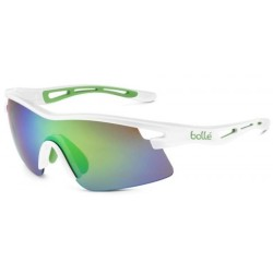 Слънчеви очила BOLLE Vortex white green edge/Bown Emerald 11733