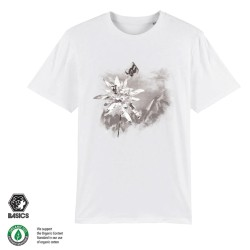 Мъжка тениска BASICS Edelweiss white