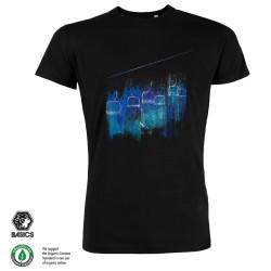 Мъжка тениска BASICS Lifted black