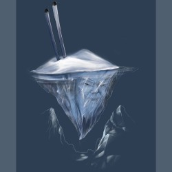 Дамска тениска BASICS Iceberg blue