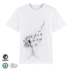 Мъжка тениска BASICS Dandelion Surfers white
