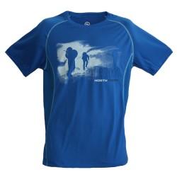 Тениска NORTHFINDER Vtacnik blue
