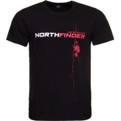 Мъжка тениска NORTHFINDER Rodin - black