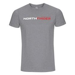 Мъжка тениска NORTHFINDER Fatra TR-31761OR - grey