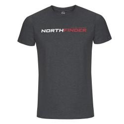 Мъжка тениска NORTHFINDER Fatra TR-31761OR - dark grey