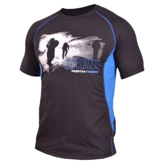 Тениска NORTHFINDER Vtacnik black