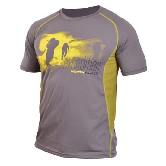 Тениска NORTHFINDER Vtacnik grey