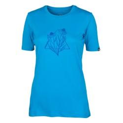 Дамска тениска NORTHFINDER Azariah blue