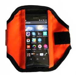 Спортен калъф за телефон - neon orange