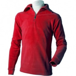 Мъжка блуза полар MICO Microfleece red