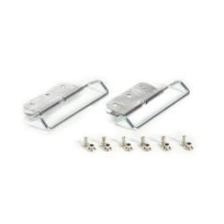 Скоби за ски колани с пластина и нитове POMOCA Top Fix 65x12мм