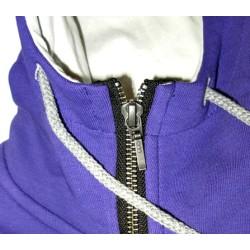 Дамски суитшърт BASICS Mystic Snowboarder purple